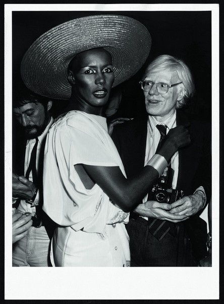 "Ron Galella, ""Grace Jones and Andy Warhol, Studio 54, New York"", 1978."